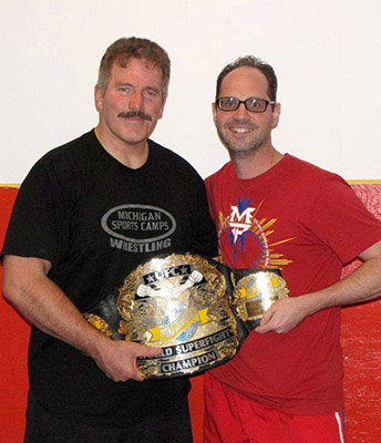 Steve and Dan Severn